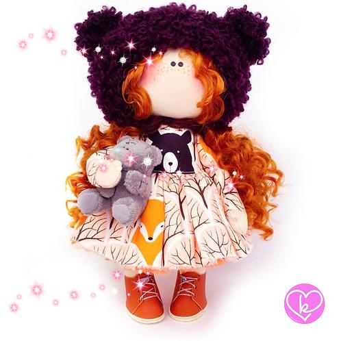 Beautiful Marley - Made to Order - Handmade Doll