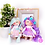 Thumbnail: Blue Petal - Ready to go - Handmade Doll Keychain