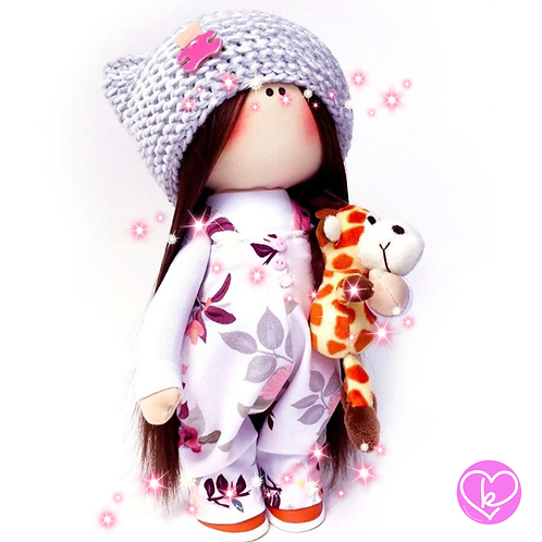 Lovely Lucy - Made to Order - Handmade Doll