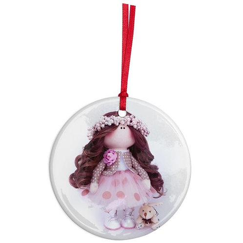 Pearls for Winter - Round Shaped - Christmas Decoration
