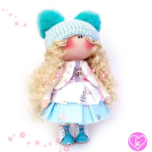 Amazing Amie - Made to Order - Handmade Doll