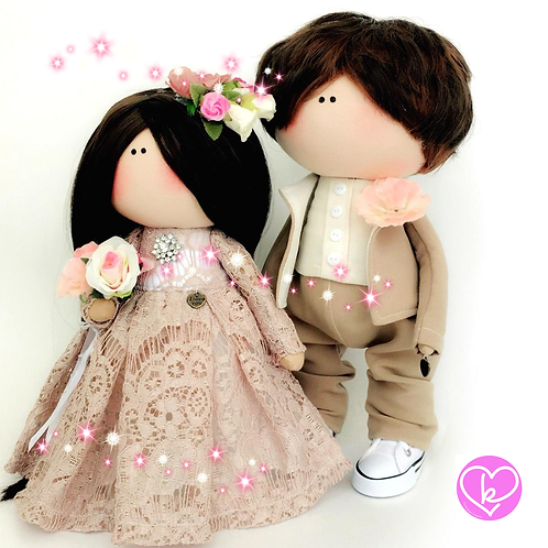 Bride to Be - Made to Order - Handmade Doll