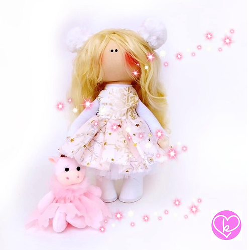 Pretty Hermoine - Made to Order - Handmade Doll