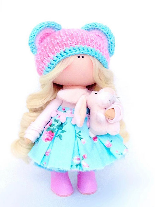 Pretty Maisy - Made to Order - Handmade Doll
