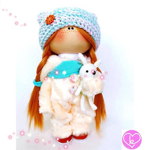 Beautiful Bonnie - Made to Order - Handmade Doll