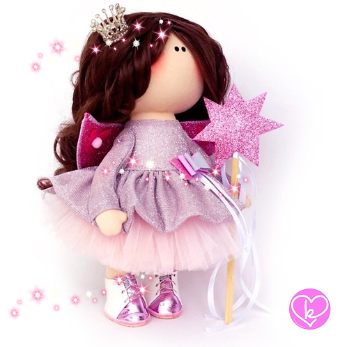 Fairy Godmother - Made to Order - Handmade Doll