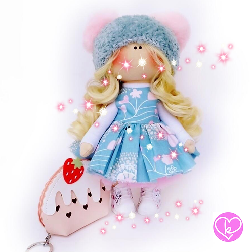 Beautiful Amber - Made to Order - Handmade Doll