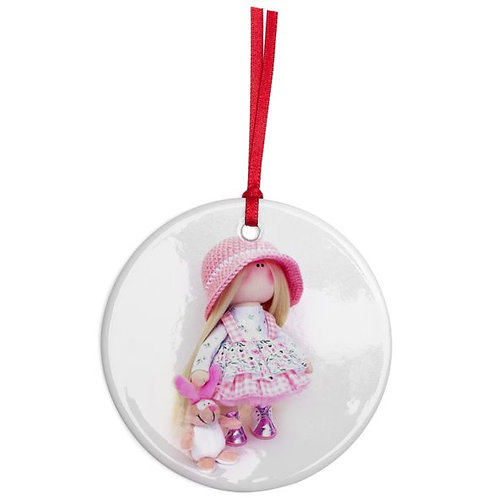 Lolly - Round Shaped - Christmas Decoration