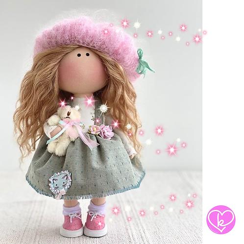 Pretty Jenna - Ready to Go Handmade Doll - 2020 Collection