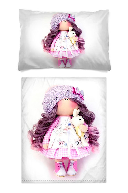 Purple and Pink Brightens up a Cloudy Day - Bedding Range - Junior
