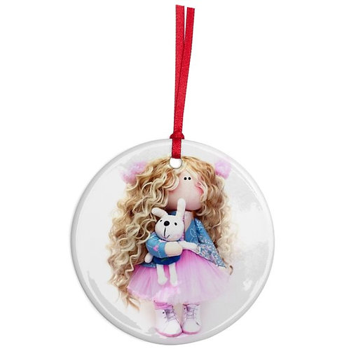 Polly - Round Shaped - Christmas Decoration