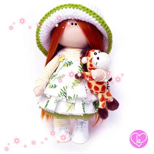 Suzy - Made to Order - Handmade Doll
