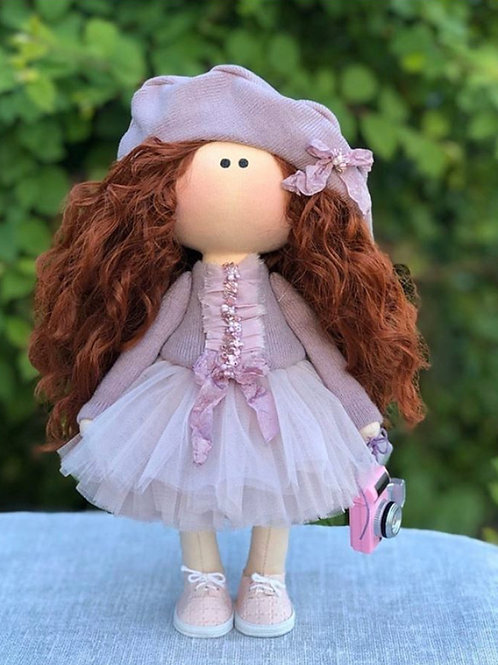 Beautiful Amy - Ready to Go Handmade Doll - 2019 Collection