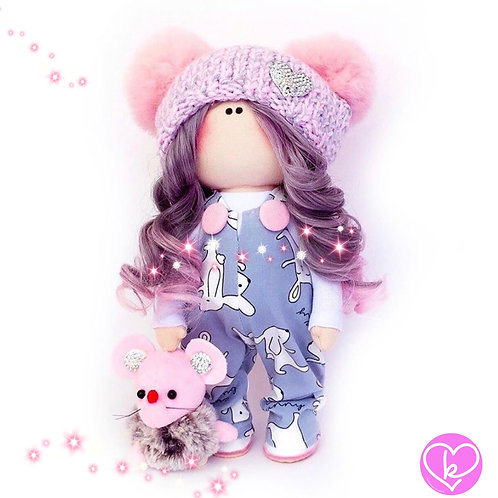 Cool Claudia - Made to Order - Handmade Doll