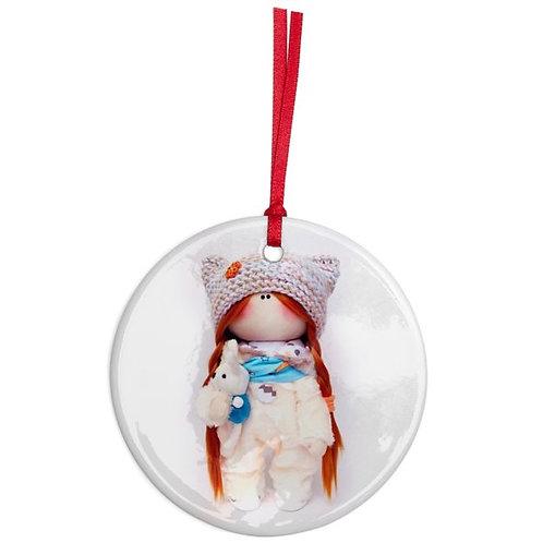 Betty - Round Shaped - Christmas Decoration