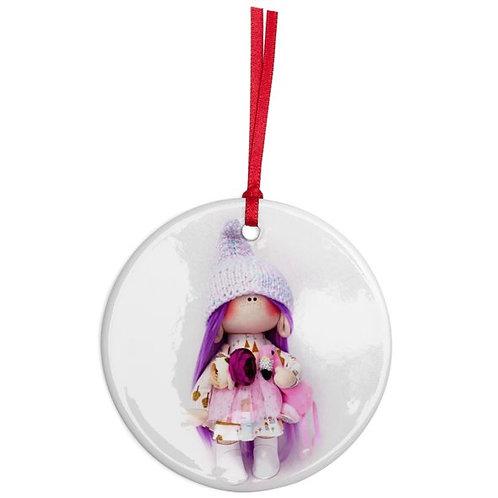 Gnomette - Round Shaped - Christmas Decoration