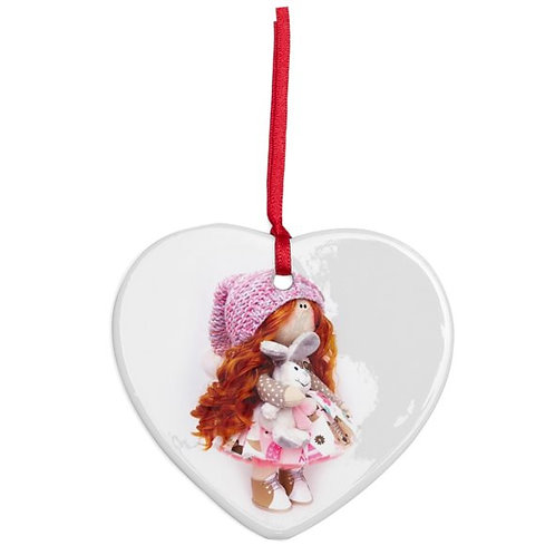 Mia - Heart Shaped - Christmas Decoration