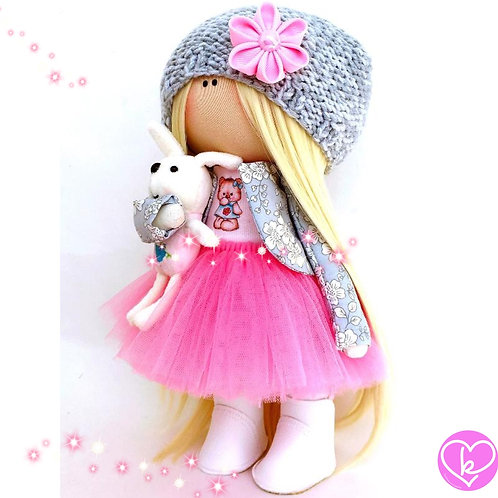 Pretty Petal - Made to Order - Handmade Doll