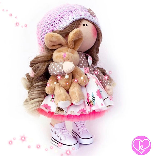 Lovely Maia - Made to Order - Handmade Doll