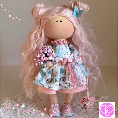 Lovely Luna - Ready to Go Handmade Doll - 2019 Collection