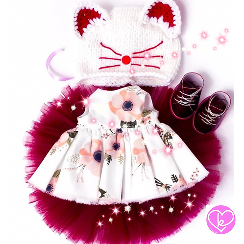 Beautiful Ruby - Made to Order - Extra Outfit Set