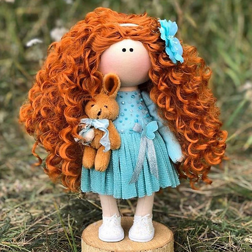 Beautiful Bea - Ready to Go Handmade Doll - 2019 Collection