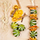 Thumbnail: Beautiful Dried Orange Cinnamon and Lime Garland - Handmade