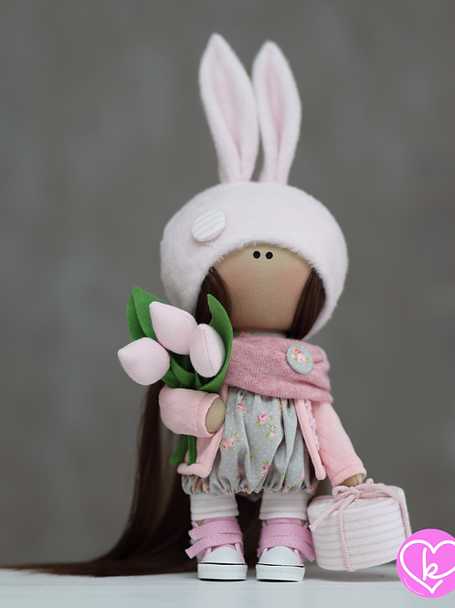 Sophia - Ready to Go - Handmade Doll - 2021 Collection
