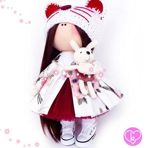Ruby Princess - Made to Order - Handmade Doll
