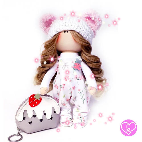 Beautiful Bunny - Made to Order - Handmade Doll