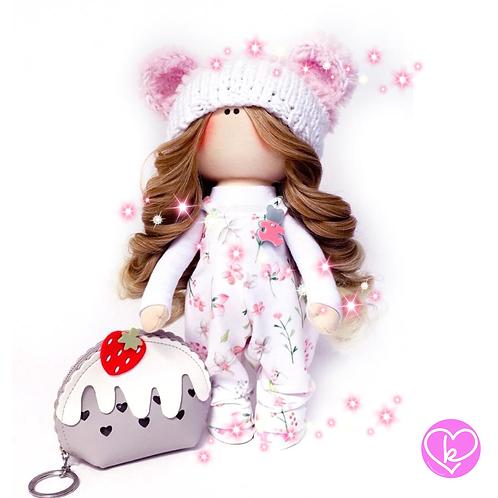 Beautiful Bunny - Made to Order - Handmade Doll