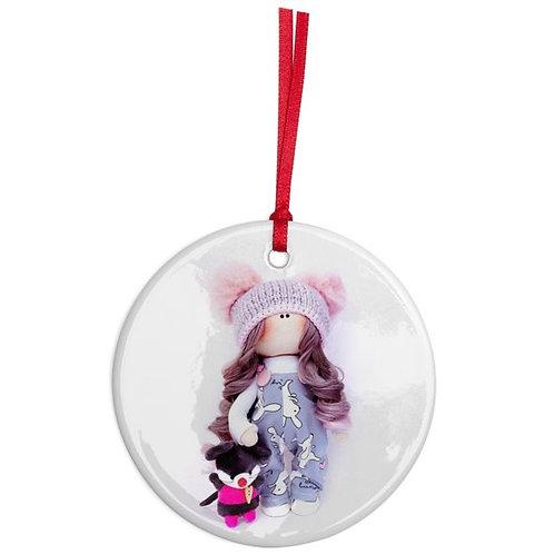 Claudia - Round Shaped - Christmas Decoration