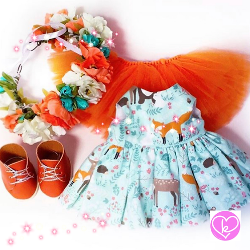 Autumn Woodland - Made to Order - Extra Outfit Set