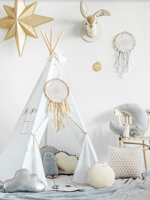 Magical Gold Star Teepee Set