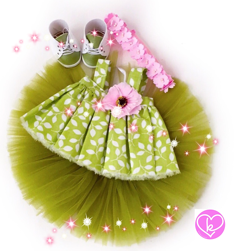 Spring Green - Made to Order - Extra Outfit Set