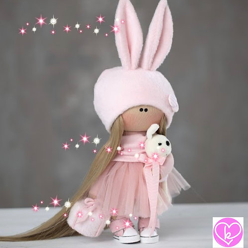 Lovely Lilly - Ready to Go Handmade Doll - 2019 Collection