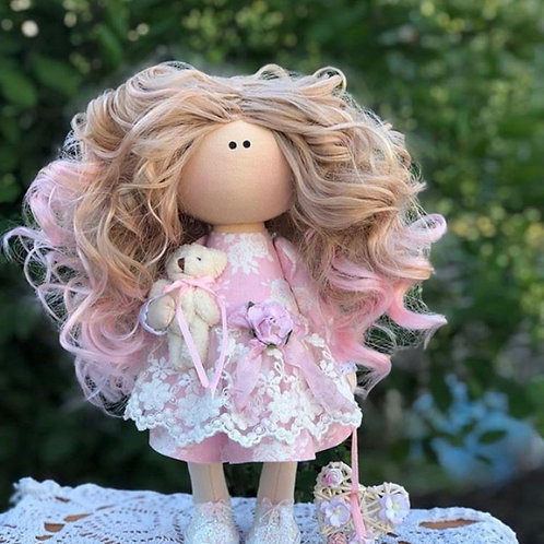 Curly Sue - Ready to Go Handmade Doll - 2019 Collection