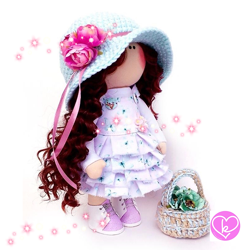 Holly - Made to Order - Handmade Doll