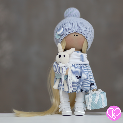 Tilly - Ready to Go - Handmade Doll - 2021 Collection