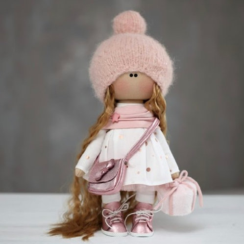 Lovely Lucinda - Ready to Go Handmade Doll - 2019 Collection