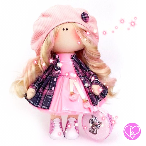 Beautiful Aristea - Made to Order - Handmade Doll