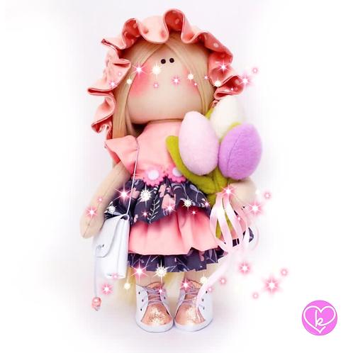 Arabella - Ready to go - Limited Edition Handmade Doll
