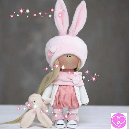 Pretty Elsa - Ready to Go Handmade Doll - 2019 Collection