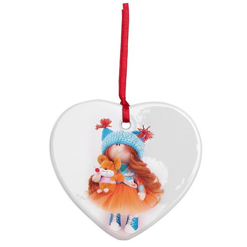 Autumn - Heart Shaped - Christmas Decoration