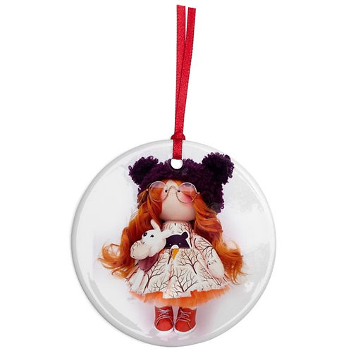 Marley - Round Shaped - Christmas Decoration