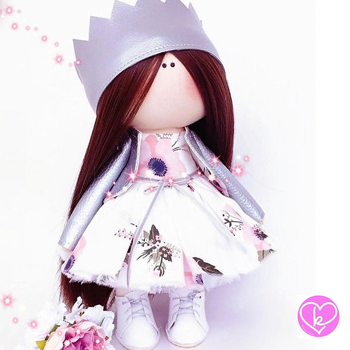 Snow Queen - Made to Order - Handmade Doll