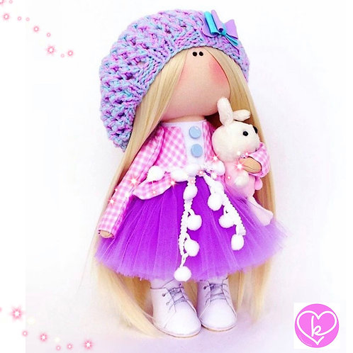 Boots, Hats and Teddies, what more would a girl want - Made to Order - Handmade