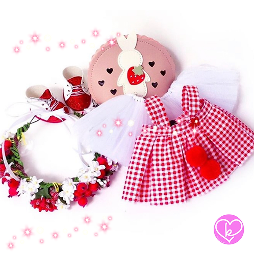 Christmas Berry - Made to Order - Extra Outfit Set