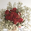 Thumbnail: Dried Rosebud and Dried Gypsophilia Hand Tied Bouquet - Handmade