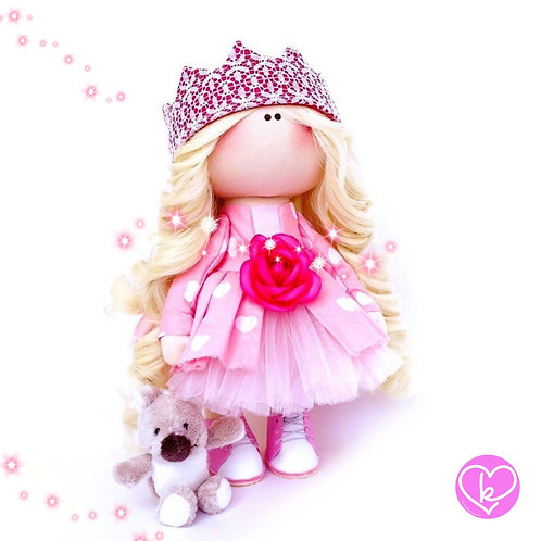 Ballerina's Best Friend - Made to Order - Handmade Doll